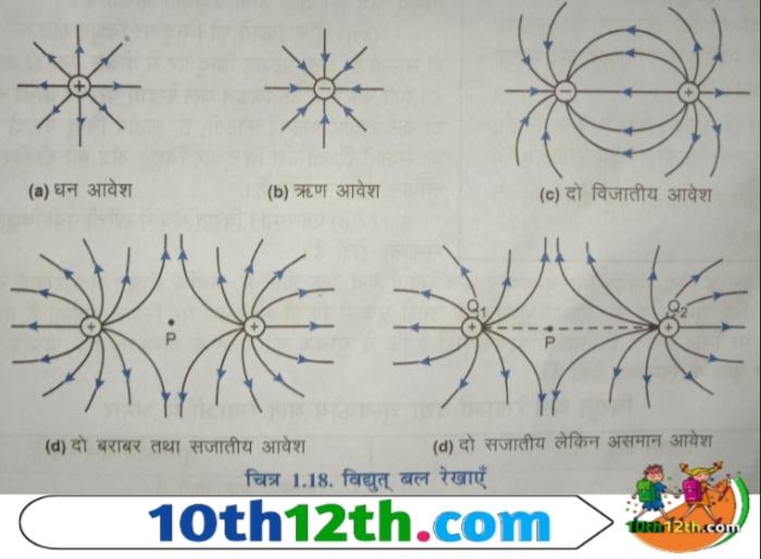 विद्युत बल रेखाएं किसे कहते हैं (12th, Physics, Lesson-1)